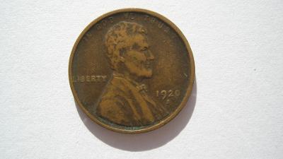 USA 1 cent 1920 S