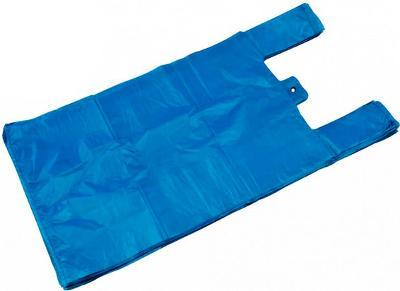 Mikrotenová taška 15kg 35x18x65 cm modrá