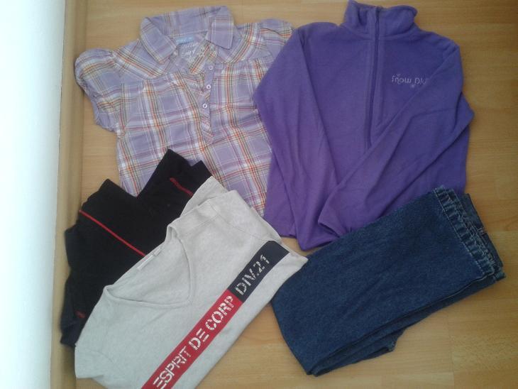 346a45a90c7 Set oblečení vel. 140