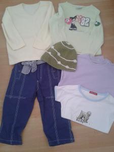 Set oblečení vel. 104-122 , dětské