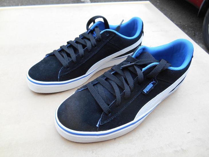 Nové volnočasové kožené boty zn. PUMA vel. 38 (6944327430) bfa5c1781a7