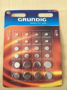 knoflíkové baterie Grundik 24ks