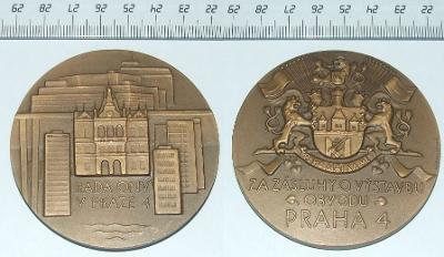 Medaile - Město - Praha