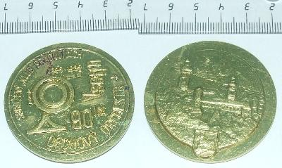 Medaile - Město - Vsetín