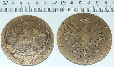 Medaile - Město - Brno
