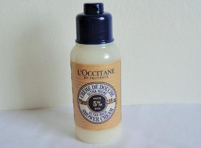 L'Occitane sprchový krém s bambuckým máslem 75 ml