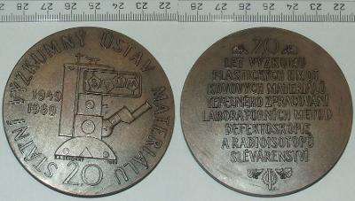 Medaile - Firma - SVÚM
