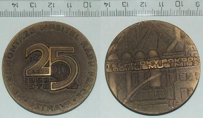 Medaile - Firma - HM Ostrava