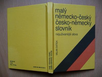 Malý německo-český, česko-německý slovník - 1992