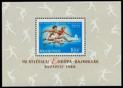 Maďarsko 1966 ME v atletice Mi# Block 54 0302