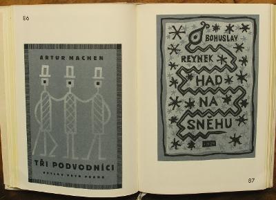 J. Čapek - Grafika knižní - Soupis - (H249)