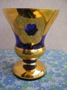 Modrozlatá váza