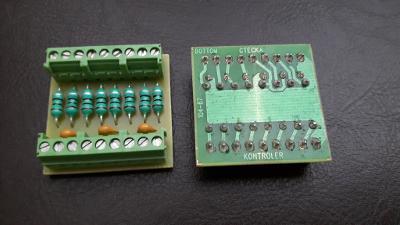 2ks propojovací modul mezi čtečka a kontroler ?