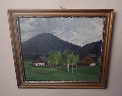 KOPCE NA NOVOBORSKU - J. KUBA 1930