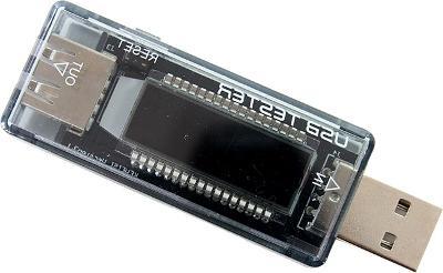 LED USB TESTER watt měřič napě + STICKY MAT ZDARMA