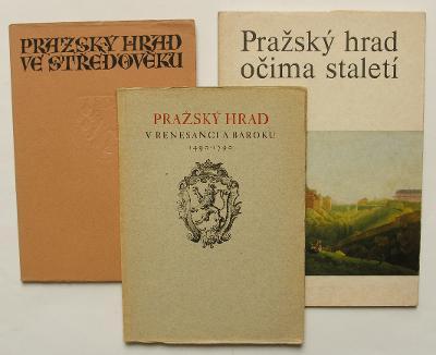 3x - Pražský hrad - (H266/1-3)