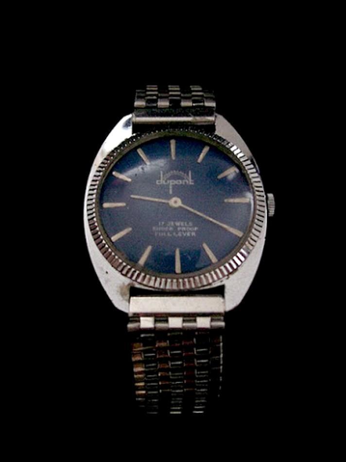 7937766337f DUPONT PARIS starožitné pánské oblekovky hodinky cca 1970 (6943621503)