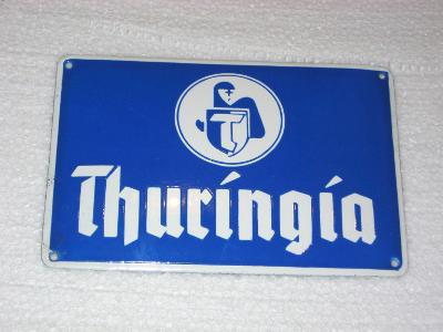 THURINGIA pojišťovna - smaltovaná cedule