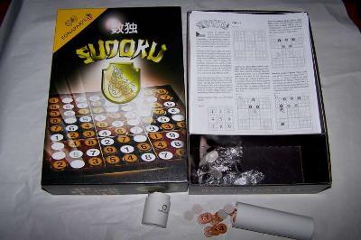 SUDOKU stolní společenská hra BONAPARTE /bz26/