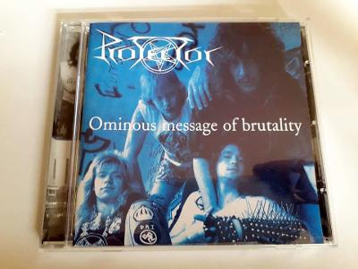 PROTECTOR - Ominous Message Of Brutality 1 Press