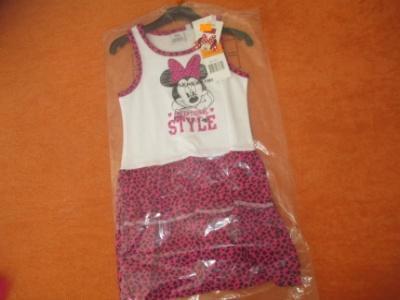 Šaty Minnie 104/110