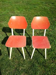 Retro židle zn.TON 2kusy