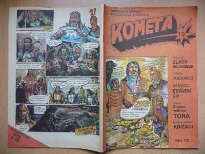Komiksový časopis - KOMETA - číslo 19.