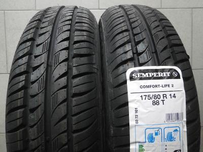 pneu 175 80r14 letní Semperit Comfort-Life 2 88T 4kusy NOVÉ