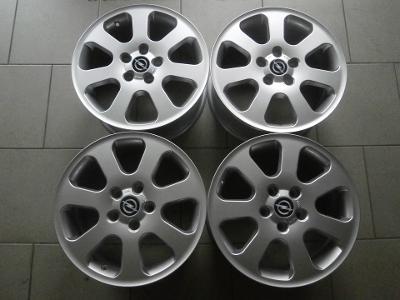 16 alu Opel, Alfa Romeo, Saab, 5x110mm, ET42, 4kusy NOVÉ