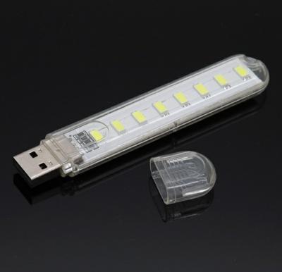 Vysoce svítivé USB 8 LED světlo do PC, notebooku..