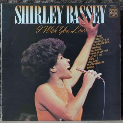 Shirley Bassey - I Wish You Love