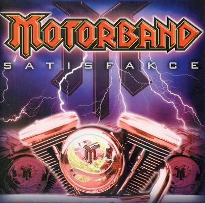 CD Motorband - Satisfakce   (2004)
