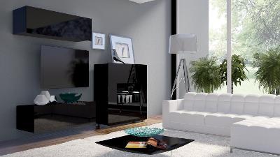 Moderní hezká obývací stěna CALABRIA 9 / opce LED!