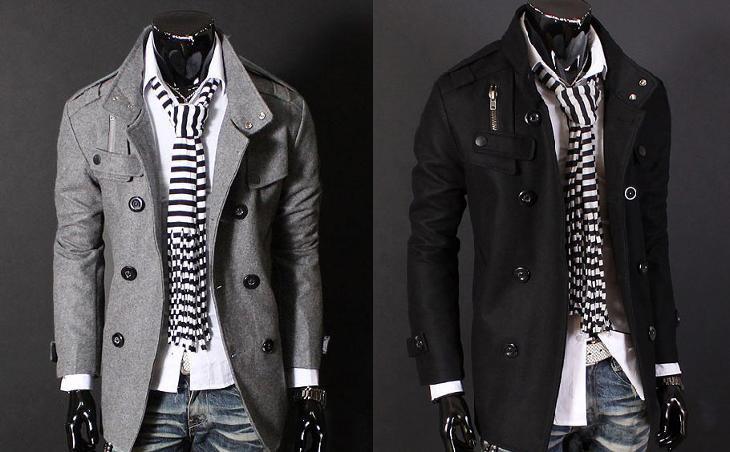 dfeca53d4c ELEGANTNÍ pánský kabát