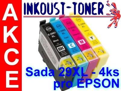 Sada 29XL (T2995) s čipem, pro EPSON - 4ks