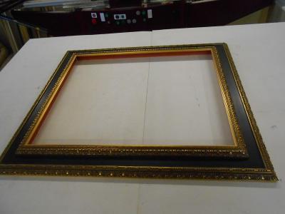 Dřevěný rám - velmi pěkná lišta -   608x508mm možno i jiný rozměr
