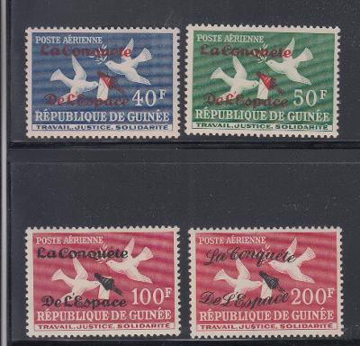Guinea 1962 Dobývání vesmíru Mi# 145-48 0382