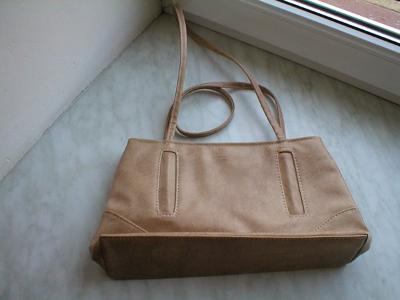 Béžová elegantní kabelka zánovní
