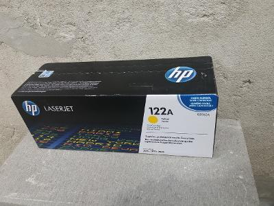 Toner HP 122A, Q3962A - Originál (žlutá, Yellow)