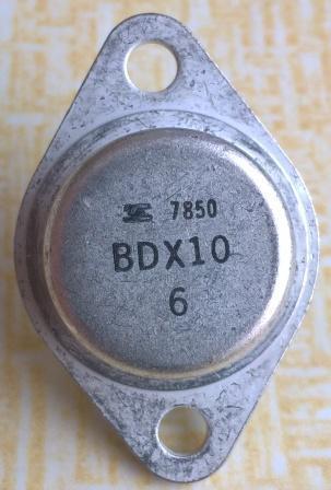 Tranzistor BDX10 , 60V / 15A / 115 W