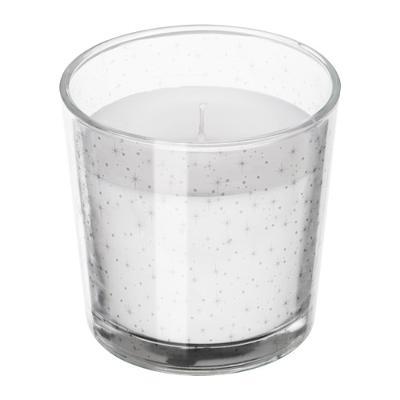 Vonná svíčka ve skle pevnina moře Ikea