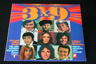 LP - Various - Wim Thoelke Präsentiert: 3x9  (d10)