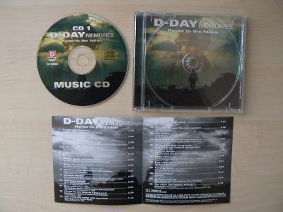 "CD: DAY ""D""  MEMORIES (Hymn to the fallen)"