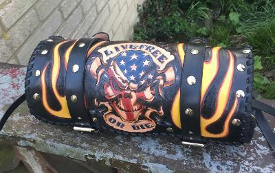 AMERICAN SKULL - rolka, váleček CHOPPER Harley