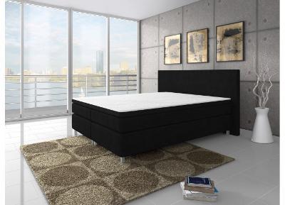Stylová kontinentální postel KING 180x200cm TYP 1!