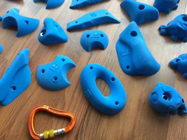 Lezecké chyty THEREX Climbing - 48 kusů  740a32659db