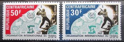SAR 1969 Výročí ILO Mi# 193-94 0982