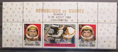 Guinea 1965 První let na Měsíc Mi# 302-03,307 0019