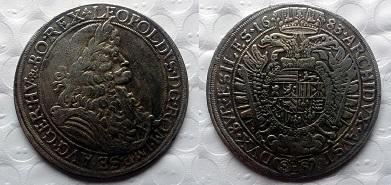 RAKOUSKO 1 tolar 1683 LEOPOLD kopie *224