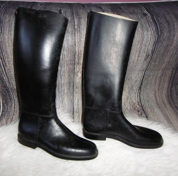 ROMIKA kvalitní vysoké jezdecké boty EU40  10ba7d1431